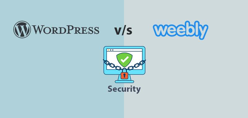 WordPress vs Weebly Security