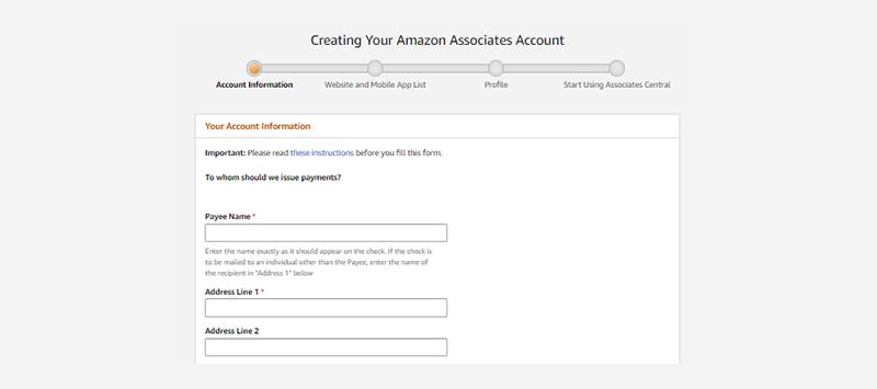 Amazon Verification Form