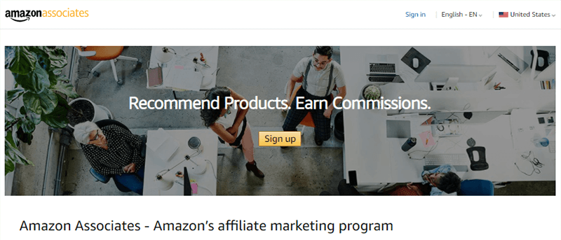 Amazon Dashboard