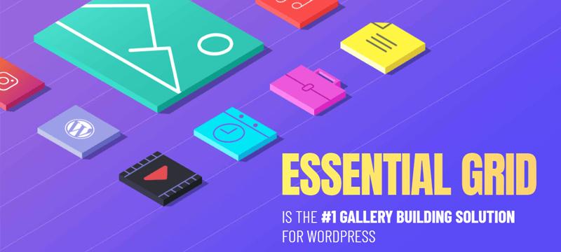 Essential Grid Popular WordPress Plugins