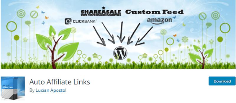 WordPress Affiliate Plugin Auto Affiliate Link