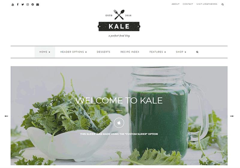 Kale Blog Theme
