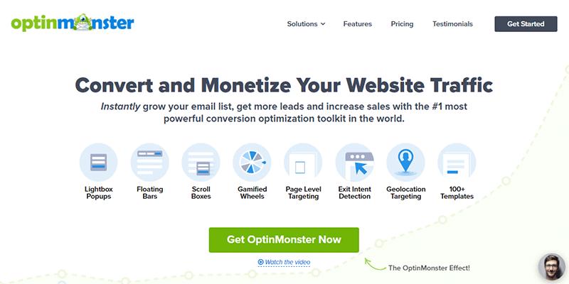 OptinMonster Lead Generation Tool