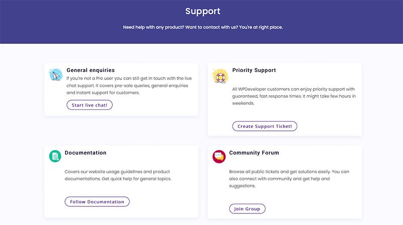 EA Support Option