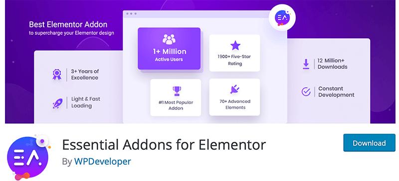 Essential Addons for Elementor-