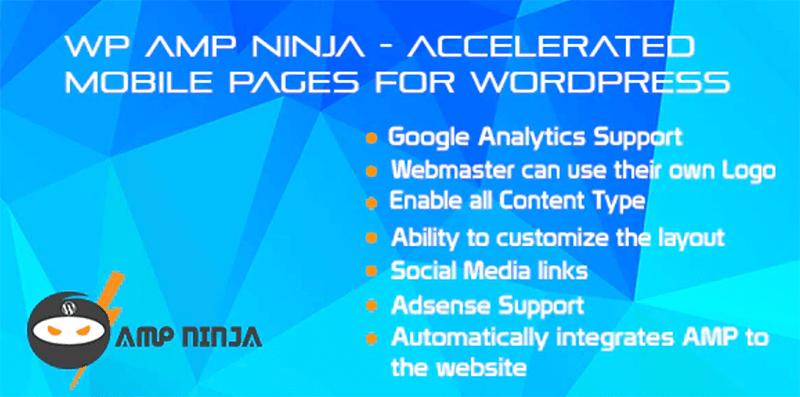 WP AMP Ninja - Best WordPress AMP Plugin
