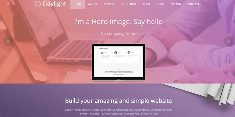 Daylight WordPress Theme