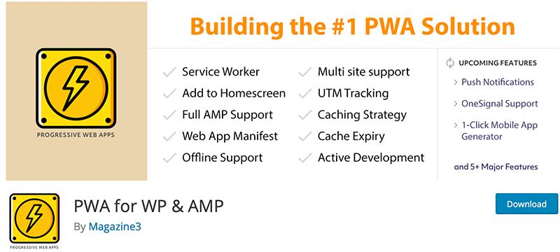 PWA for WP & AMP