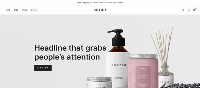 Botiga WooCommerce Theme