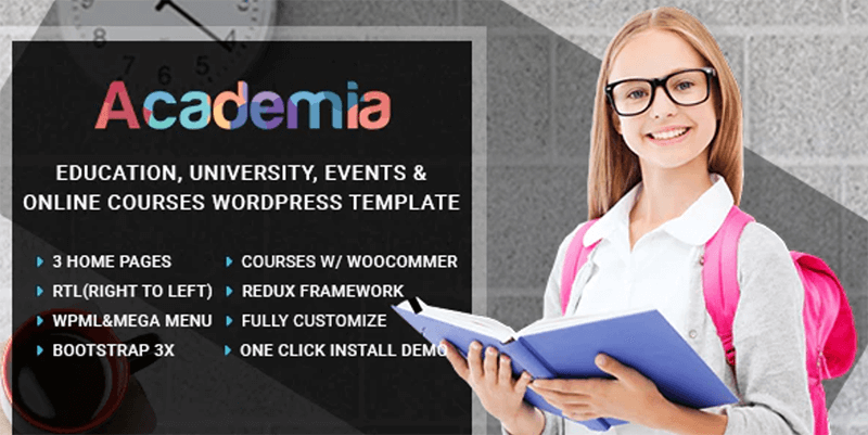 Academia - Best LMS WordPress Theme