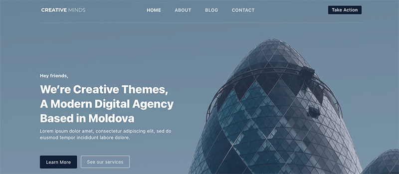 Blocksy - Best Free Minimalist WordPress Themes