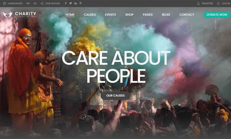 CharityFoundation WordPress Themes for nonprofits