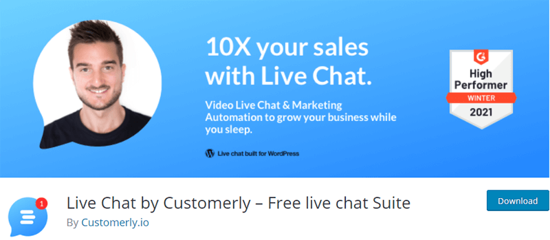 Customerly- Free Live Chat Suite