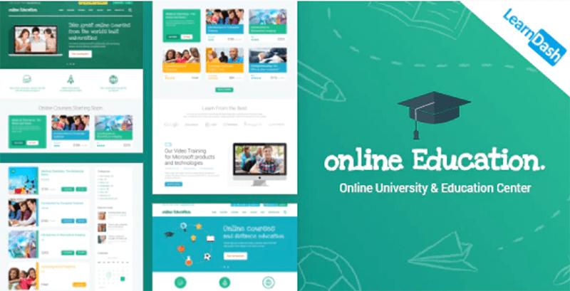 Education Center - Best LMS WordPress Theme
