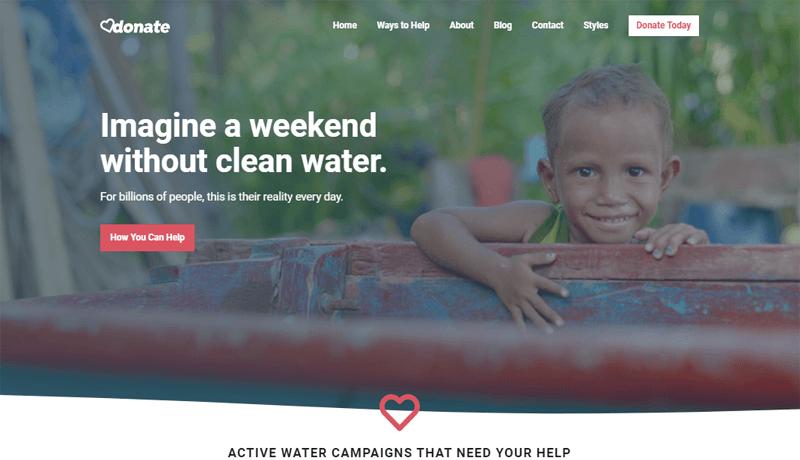 GeneratePress-Donate-WordPress Donation Theme