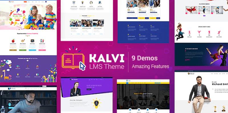 Kalvi - Best LMS WordPress Theme
