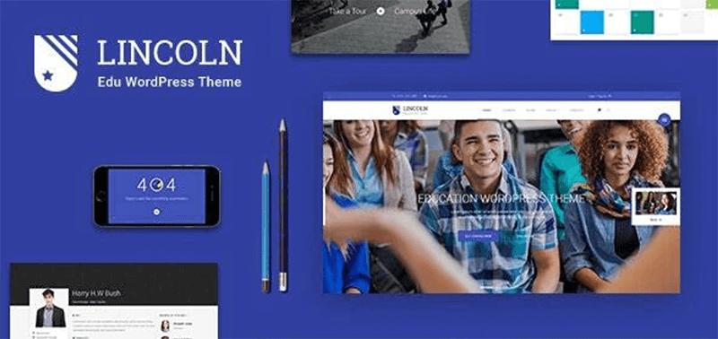 Lincoln  - Best LMS WordPress Theme