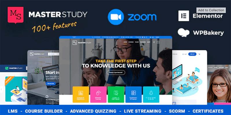 Masterstudy - Best LMS WordPress Theme