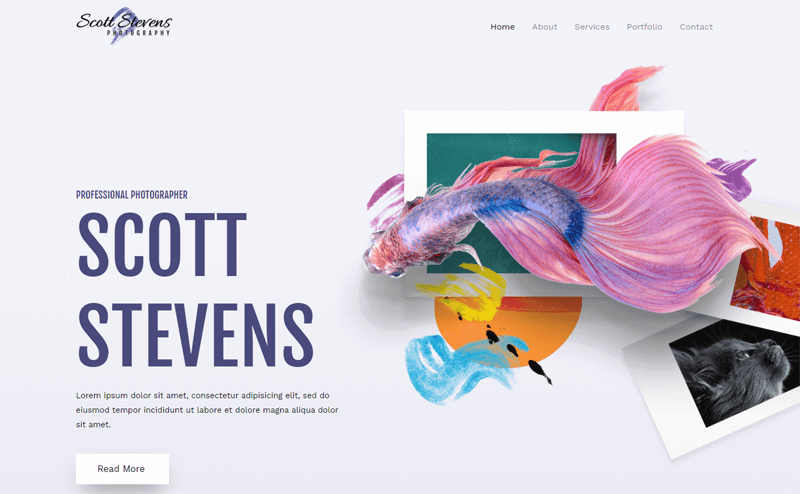 Astra WordPress Themes for Photographers