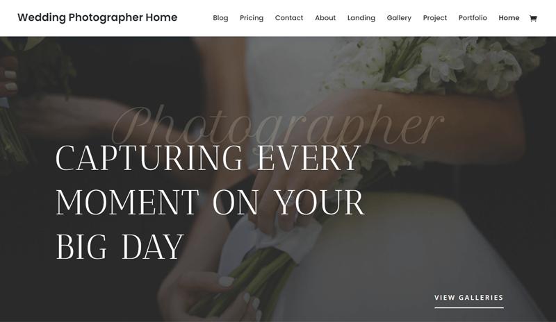Divi WordPress Themes for Photographers