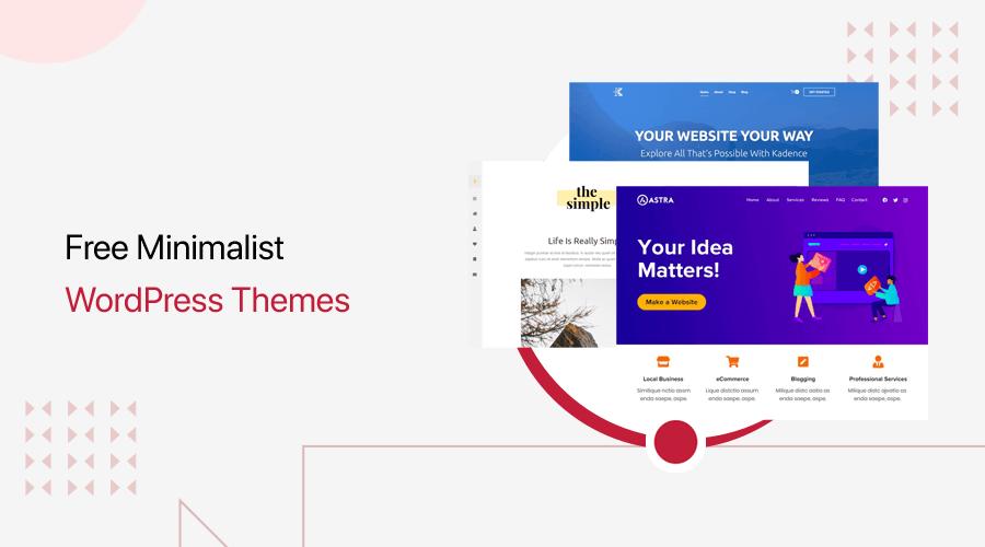 Free Minimalist WordPress Themes