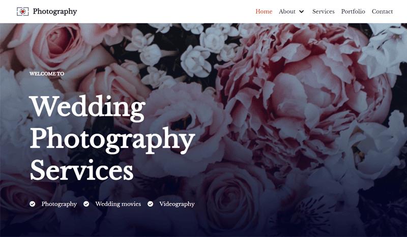 Neve Theme for Photographers