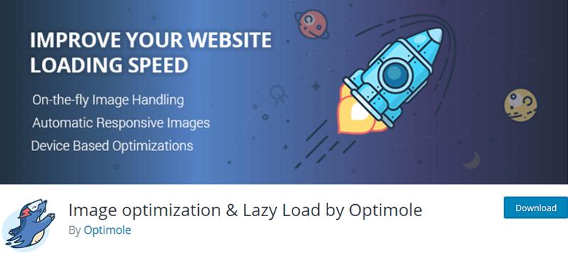 Image optimization and Lazy Load by Optimole