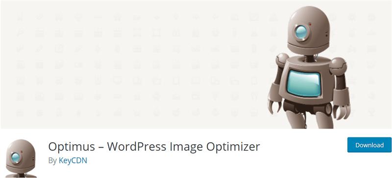 Optimus Image Optimization Plugin