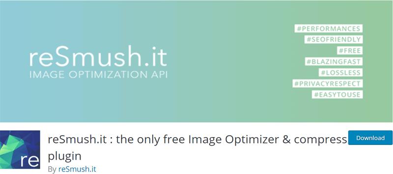 reSmush.it Free Image Optimizer and Compress Plugin