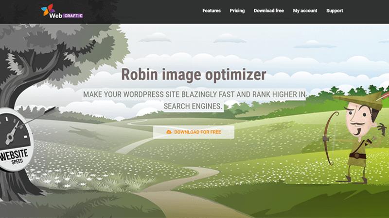 Robin Image Optimizer WordPress Plugin