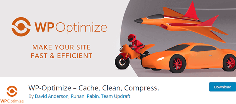 WP-Optimize Image Compressor for WordPress