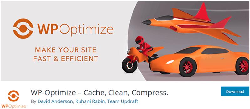 WP Optimize Cache