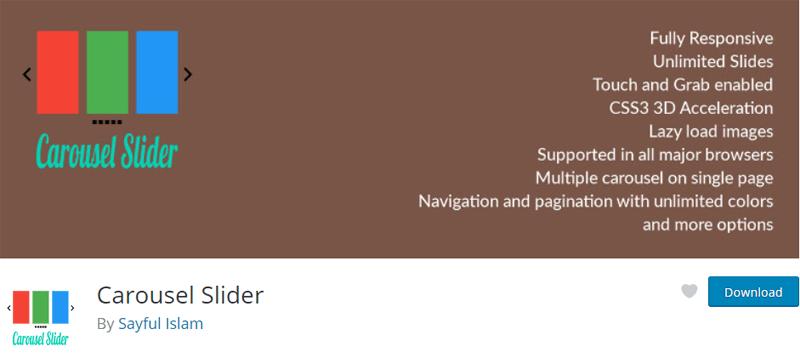 Carousel Slider WordPress Plugin