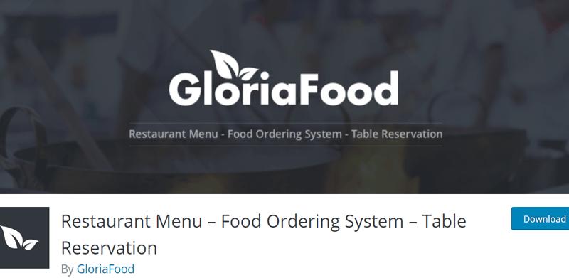 Restaurant Menu by GloriaFood