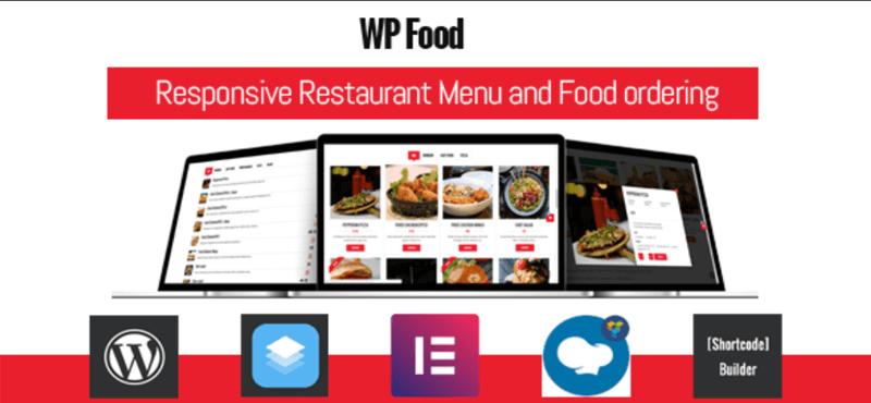 WP Food WordPress Restaurant Menu