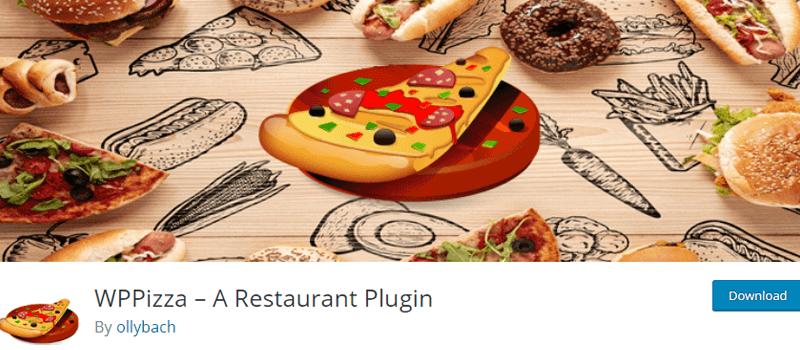 WPPizza WordPress Menu Order Plugin