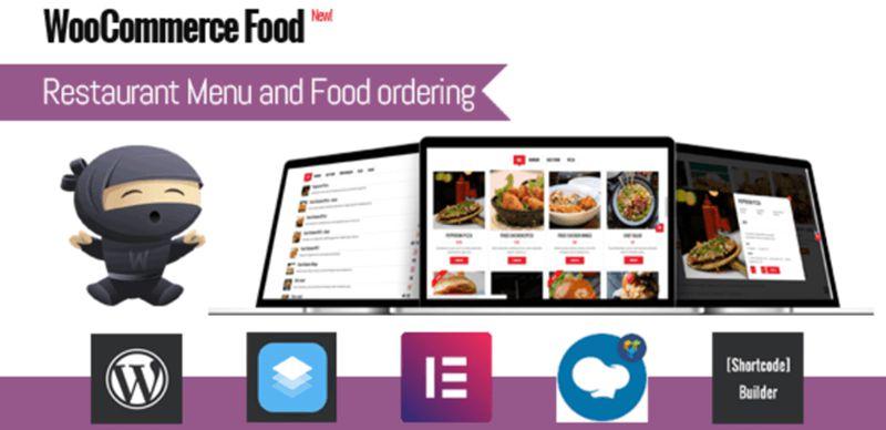 WooCommerce food WordPress Menu Plugin