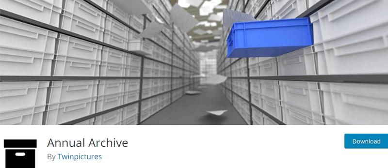 annual archive best wordpress archive plugins