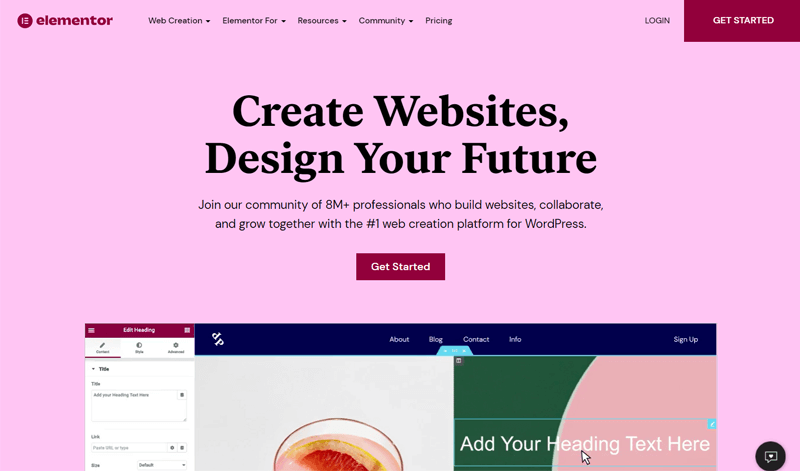 Elementor Website Builder Plugin