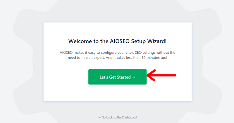 Get into Configuration Wizard