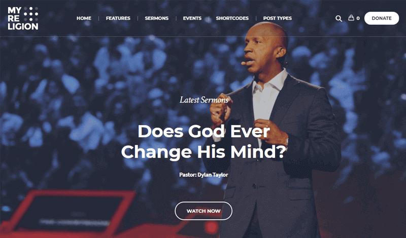 My Religion WordPress Church Theme