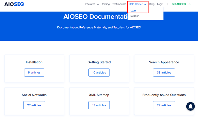 Documents for Customer Support