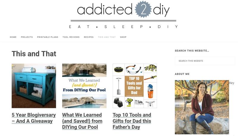 Adicted-2-DIY-Blog DIY lifestyle blog