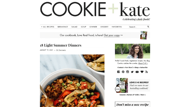 Cookie and Kate Blog how to make money with a lifestyle blog