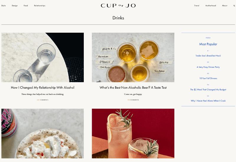 Cupo of Jo Blog lifestyle blog names idea list