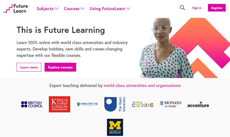 Future Learn Popular Online Courses Websites
