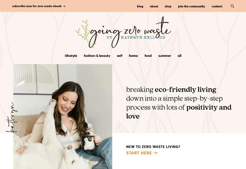 Going Zero Waste Blog