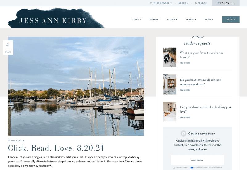 Jess Ann Kirby Blog travel blog
