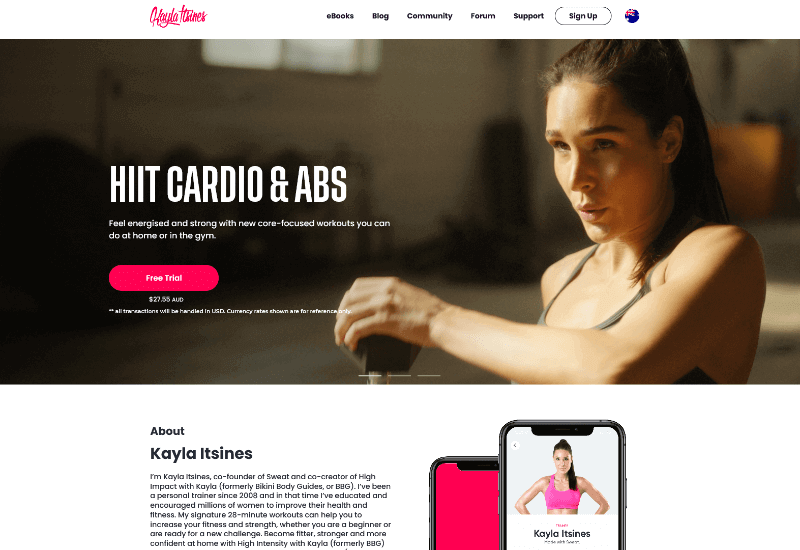 Kayla Itsiness Blog Fitness and wellness blog