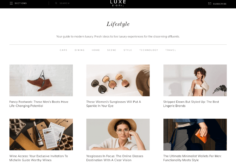 Luxe Digital Blog